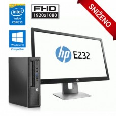 HP EliteDesk 800 G1 UltraSlim i5 + HP EliteDisplay E232 23''