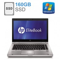 HP EliteBook 8460p + 160Gb SSD Intel