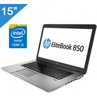 "HP EliteBook 850 15"", Intel i5, SSD + Windows Pro"