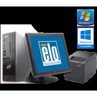 Touchscreen fiskalna blagajna (Fujitsu Esprimo C710 G, Elo Touch, crni TH-230 termalni pisač...)