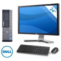 Dell Optiplex 790 USFF + Monitor Dell 2408 24""