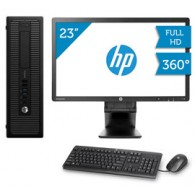HP EliteDesk 600 G1 + Monitor HP E231 23""