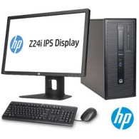 HP Compaq Elite 800 i7 + Monitor HP Z24i