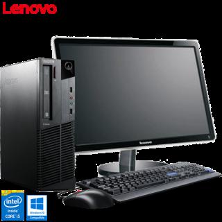 Lenovo ThinkCentre M91p i5 + Monitor 24'' Lenovo LS2421p